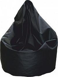 Tempo Kondela Sedací pytel BAG-VAK- černý + kupón KONDELA10 na okamžitou slevu 10% (kupón uplatníte v košíku)