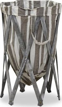 Tempo Kondela Skládací koš na prádlo DZIMBO 5 HX13-248/WG