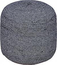 Tempo Kondela Taburet GLOBO - černobílá/vzor + kupón KONDELA10 na okamžitou slevu 3% (kupón uplatníte v košíku)