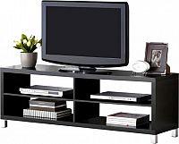 Tempo Kondela Televizní stolek TOFI NEW - černý + kupón KONDELA10 na okamžitou slevu 10% (kupón uplatníte v košíku)