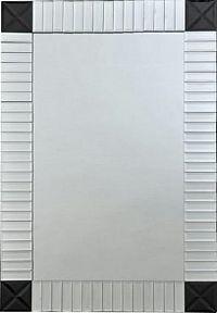 Tempo Kondela Zrcadlo ELISON TYP 3 - stříbrná/černá + kupón KONDELA10 na okamžitou slevu 10% (kupón uplatníte v košíku)