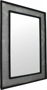 Tempo Kondela Zrcadlo ELISON TYP 9 - stříbrná / černá