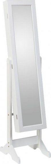 Tempo Kondela Zrcadlo FY13015-3 MIROR - bílá + kupón KONDELA10 na okamžitou slevu 10% (kupón uplatníte v košíku)