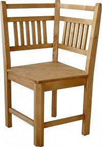 Unis Dřevěná lavice Classic 00535 roh