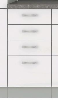Dolní kuchyňská skříňka Bianka 40D, 40 cm