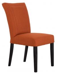 Jídelní židle Zena, oranžová tkanina