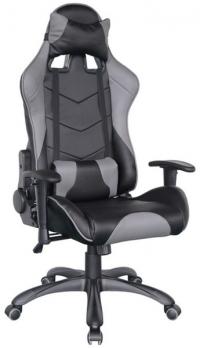 Kancelářské křeslo Individual, černo-šedé