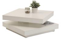 Konferenční stolek Ben, bílý