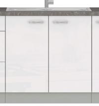 Kuchyňská dřezová skříňka Bianka 80ZL, 80 cm
