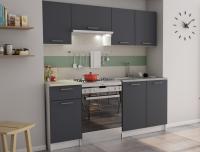 Kuchyňský blok Irma, bílá/grafitově šedá