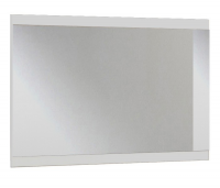 Nástěnné zrcadlo Nadja, bílé