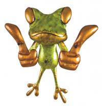 Nástěnný věšák Frog 89908
