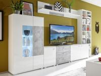 Obývací stěna Performer, s osvětlením