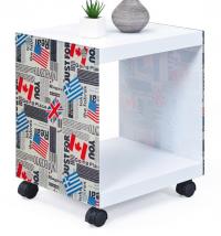 Odkládací stolek/regálek Flagcube