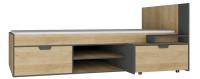 Postel s úložnými prostory Nano 13, 90x200 cm