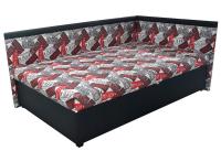 Rohová postel TRAVIS pravá 120x200