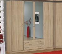 Šatní skříň Case, 181 cm, dub sonoma
