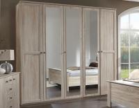 Šatní skříň Chalet, 225 cm, dub sonoma