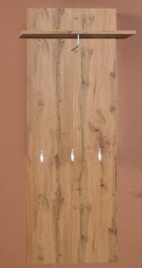 Věšákový panel Askon 51, dub wotan