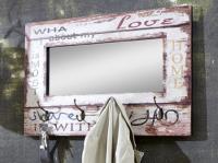 Věšákový panel se zrcadlem Lovis 4 (89941)