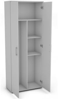 Víceúčelová dělená skříň Nitro 1, bílá