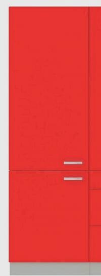 Vysoká kuchyňská skříň Rose 60DK, 60 cm
