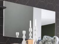 Zrcadlo na stěnu Sol 453 (96x50 cm)