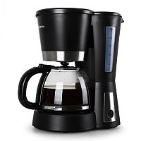 Kávovar Klarstein Sunday Morning, černý, 900 W, 1,5 l
