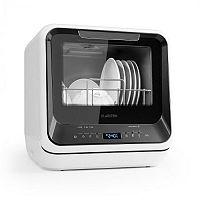 Klarstein Amazonia Mini, myčka nádobí, 6 programů, LED displej, černá