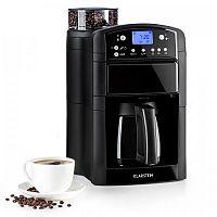 Klarstein Aromatica Thermos kávovar, mlýnek, termoska, aroma +, černá barva