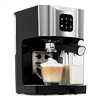 Klarstein BellaVita, kávovar, 1450 W, 20 barů, pěnič mléka, 3 in 1, šedý