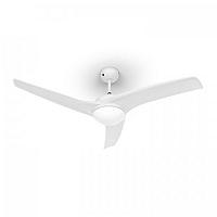 "Klarstein Figo, bílý, stropní ventilátor, 52 "", 55 W, stropní lampa, 2 x 42 W, dálkový ovladač"