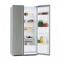 Klarstein Grand Host A, kombinace chladničky s mrazničkou, základní model, 474 litrů, stříbrná