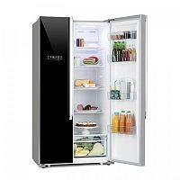 Klarstein Grand Host XL, kombinace chladničky s mrazničkou, 517 litrů, A++, černá