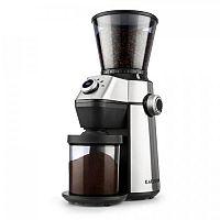 Klarstein Triest, mlýnek na kávu, kuželové mlecí těleso, 150W, 300g, 15 mlecích stupňů, nerezová ocel