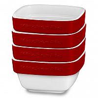KitchenAid keramický set ramekiny 4ks (KBLR04RMER) královská červená