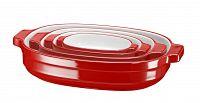 KitchenAid pekáč keramický sada 4 ks (KBLR04NSER) královská červená