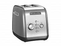 KitchenAid Toustovač 5KMT221, stříbrná, topinkovač