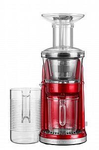 Nízkootáčkový odšťavňovač KitchenAid 5KVJ0111 červená metalíza