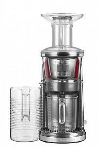 Nízkootáčkový odšťavňovač KitchenAid 5KVJ0111 stříbřitě šedá