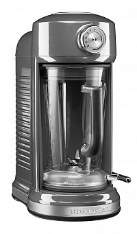 Stolní mixér KitchenAid Artisan s magnetickým pohonem 5KSB5080 stříbřitě šedá