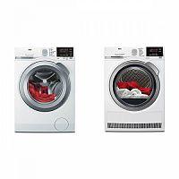 Set (Automatická pračka AEG ProSense™ L6FBG68SC) + (Sušička prádla AEG ProSense™ T6DBG28SC)