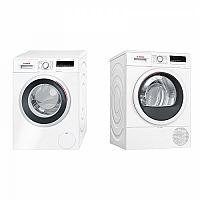 Set (Automatická pračka Bosch WAN28260CS) + (Sušička prádla Bosch WTR85V00CS)