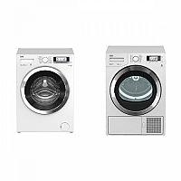 Set (Sušička prádla Beko DPY 8506 GXB1) + (Automatická pračka Beko Superia WMY 61243 CS PTLB1)