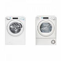 Set (Sušička prádla Candy CS4 H7A1DE-S) + (Automatická pračka Candy CSS4 1272D3/1-S)
