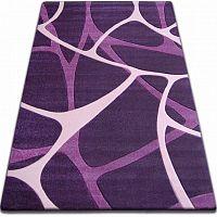 3kraft Kusový koberec FOCUS - F241 pavučina tmavě fialový
