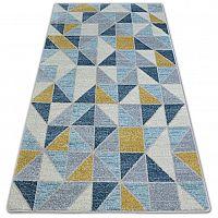 3kraft Kusový koberec NORDIC žlutý G4586