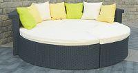 Bello Giardino Zahradní postel RICCO černá