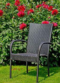 Bello Giardino Zahradní židle SOTTILE černá