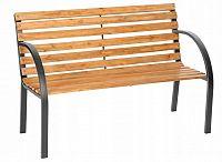 Bluegarden Dřevěná zahradní lavice Amanda hnědá